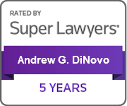 Super Lawyers 5 Years badge
